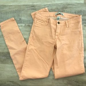 REFUGE LIGHT ORNAGE JEANS